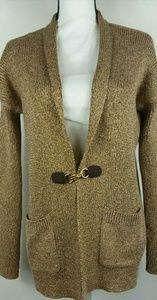 Michael Michael Kors Gold Duster Cardigan Sweater